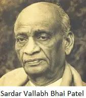 Sardar Vallabh Bhai Patel