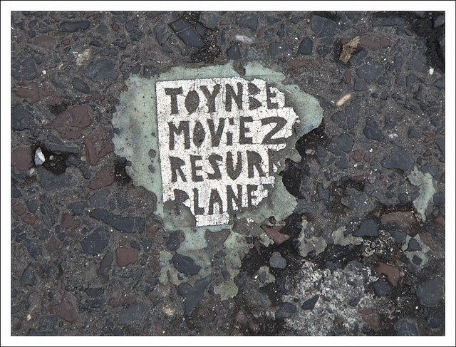 Toynbee Tile Poor Condition Ranstead And Chestnut