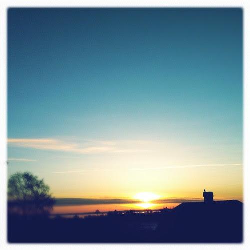 Sunday's sky