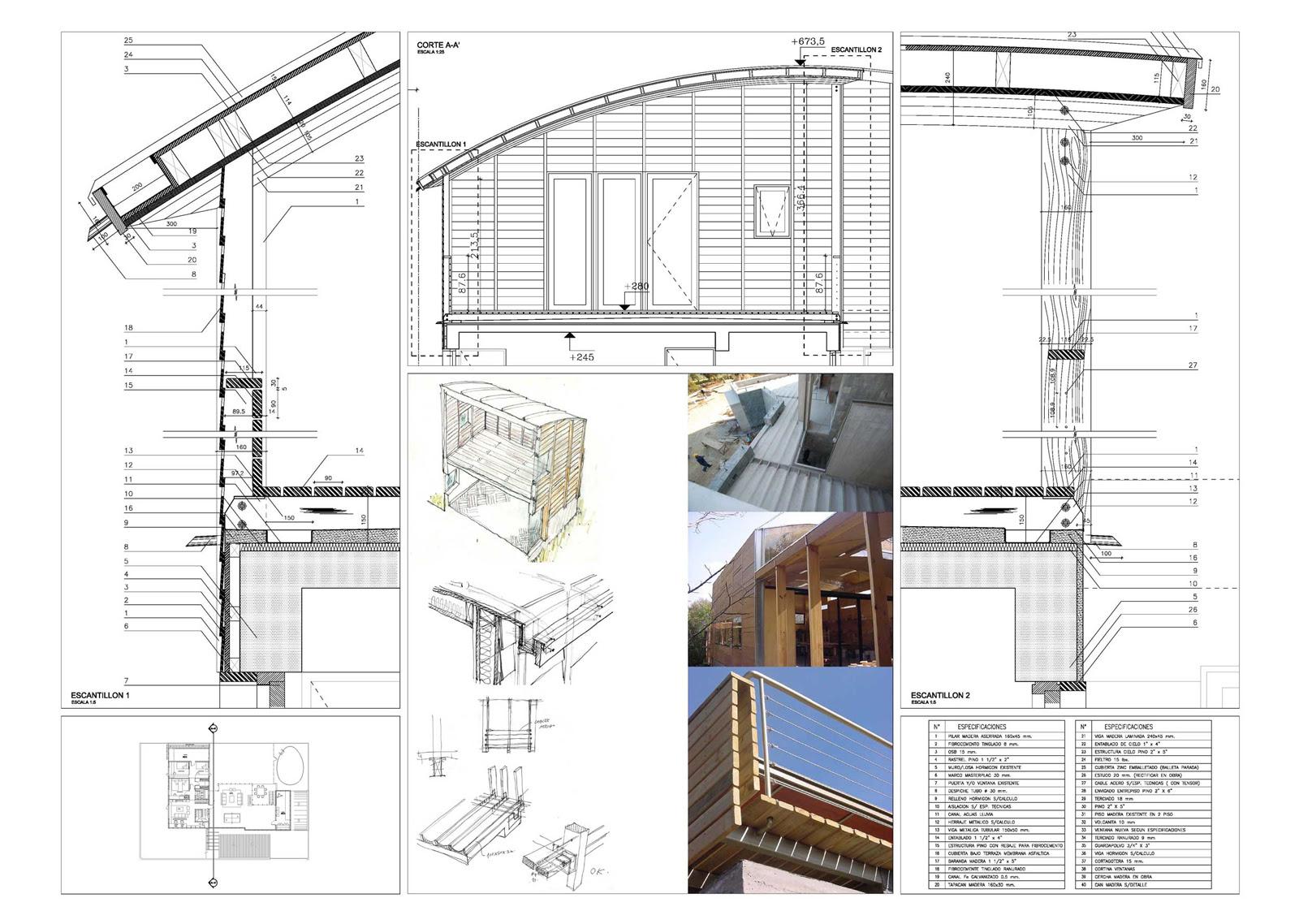 Casa santa zurda martin hurtado arquitectos blog y - Casas de madera laminada ...