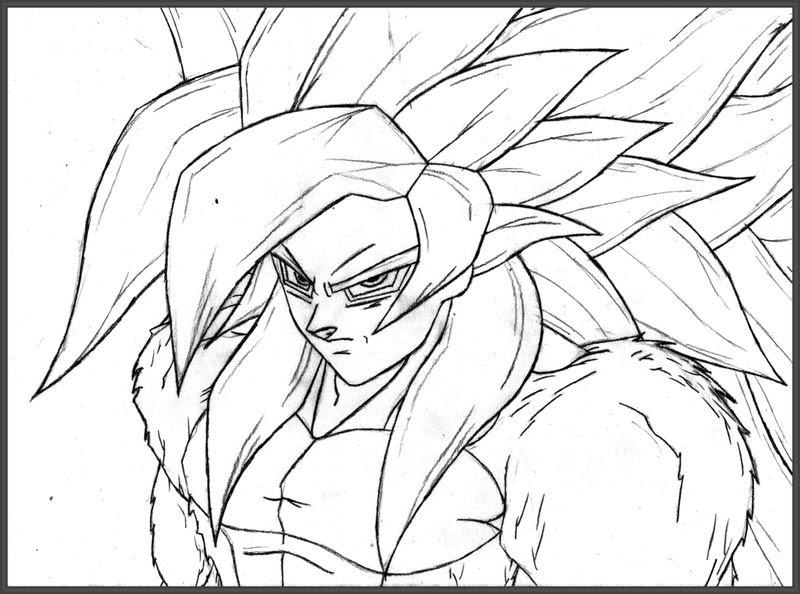 Imágenes De Dibujos De Goku Imágenes