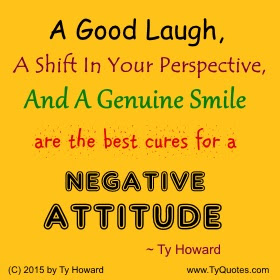 Ty Howards Quote On Attitude Tyquotescom