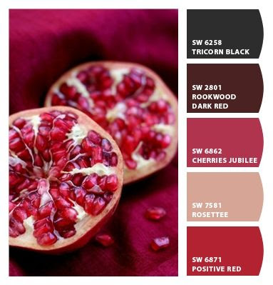 pomegranate colors