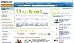 Amazon Green Screenshot - 08/13/08