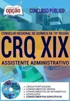 Apostila concurso Conselho Química-PB (CRQXIX) Assistente Administrativo