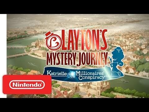 Layton's Mystery Journey: Katrielle & the Millionaires' Conspiracy
