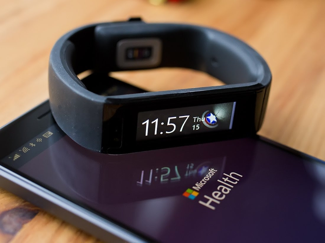 Image result for microsoft health band