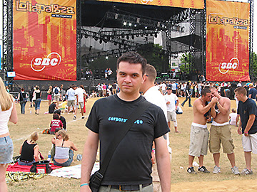 Chris, Lollapalooza, 2005
