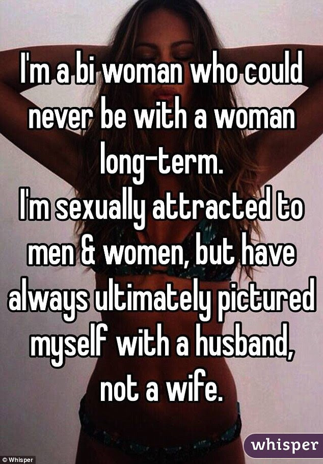 For this user, other women might be attractive but they're not life-partner material
