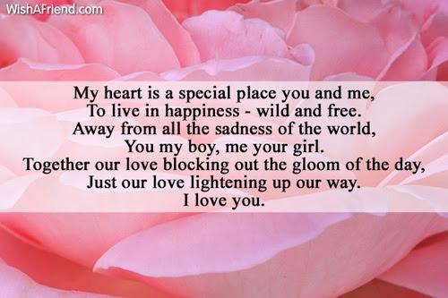 My Heart Poem For Boyfriend