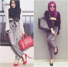 Style simple Hijab 2015