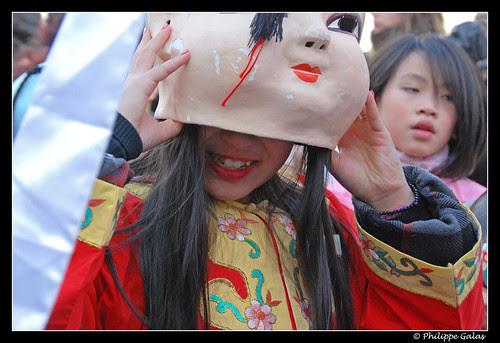 Nouvel An Chinois 2011 - Sous le masque