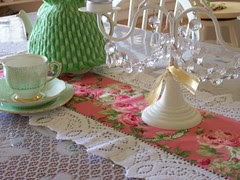 Shabby Chic theme Table runner