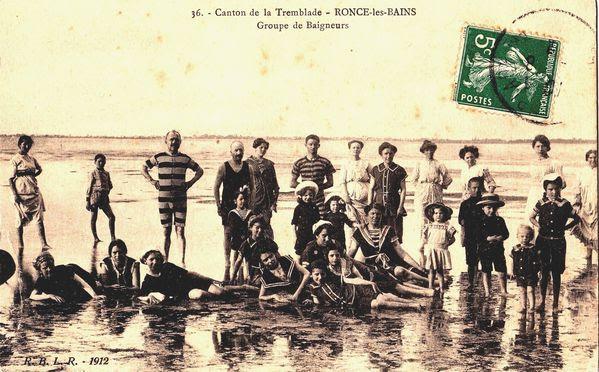 On se sent bien en maillot de bains en 1912