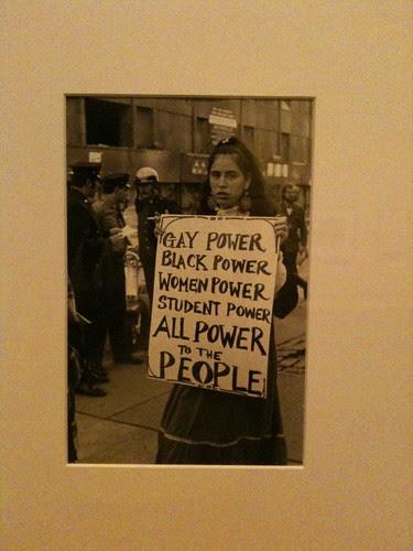 Diana Davies photo at NYPL Exhibit