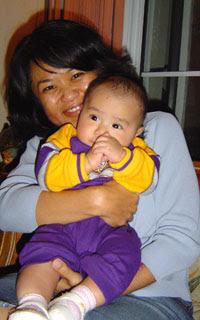 Me and my cousin Jasmine