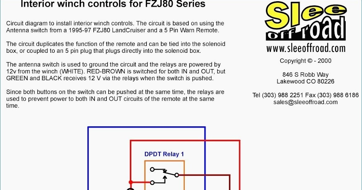 35 Inspirational Winch Relay Wiring Diagram