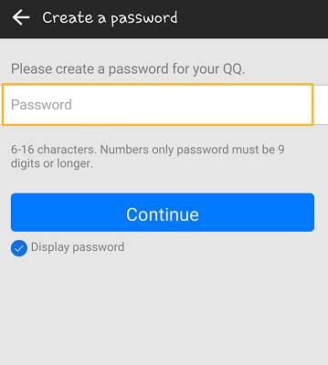 Cách đăng ký Tài khoản QQ trên điện thoại và Xác minh đăng Nhập