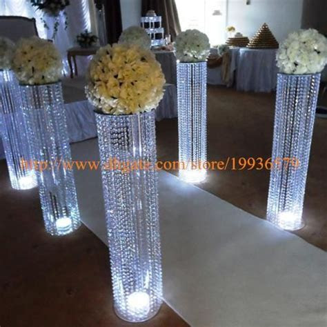 8 pcs /lot 3ftTall ACRYLIC WEDDING DECORATION CRYSTAL