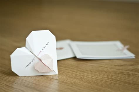 DIY Wedding Invitations with Recycled Material