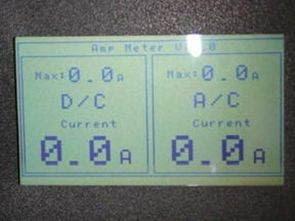 Màn hình LCD Ampe hiển thị 10A 2 kênh với ATmega32