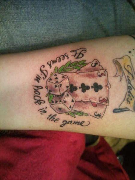 Card & Dice tattoo