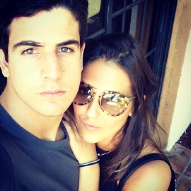 Enzo Celulari e Rafaella Rique (Foto: Reprodução/Instagram)