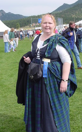 At the Scots Fest 2003