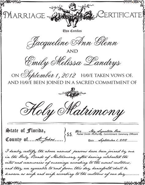 Gay Wedding   Lesbian Wedding and Commitment Ceremony