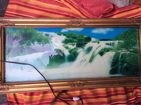 Moving Picture Light Up Sound Waterfall Home Decor For Sale On