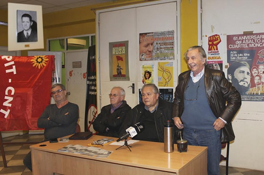 A 100 años de su nacimiento, Héctor Rodríguez fue recordado por veteranos y jóvenes militantes