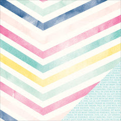 Good Vibes 12x12 Paper-Dear Lizzy Serendipity