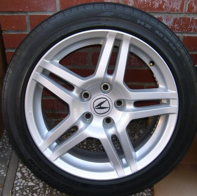 Sold 2007 2008 Acura Tl Base Oem Wheels Acurazine Acura Enthusiast Community