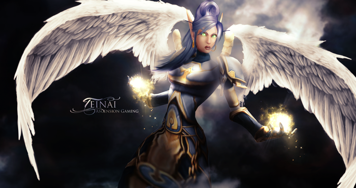 Teinai Wallpaper World Of Warcraft (by Ginnypinny)