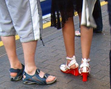 Red Platform Shoes
