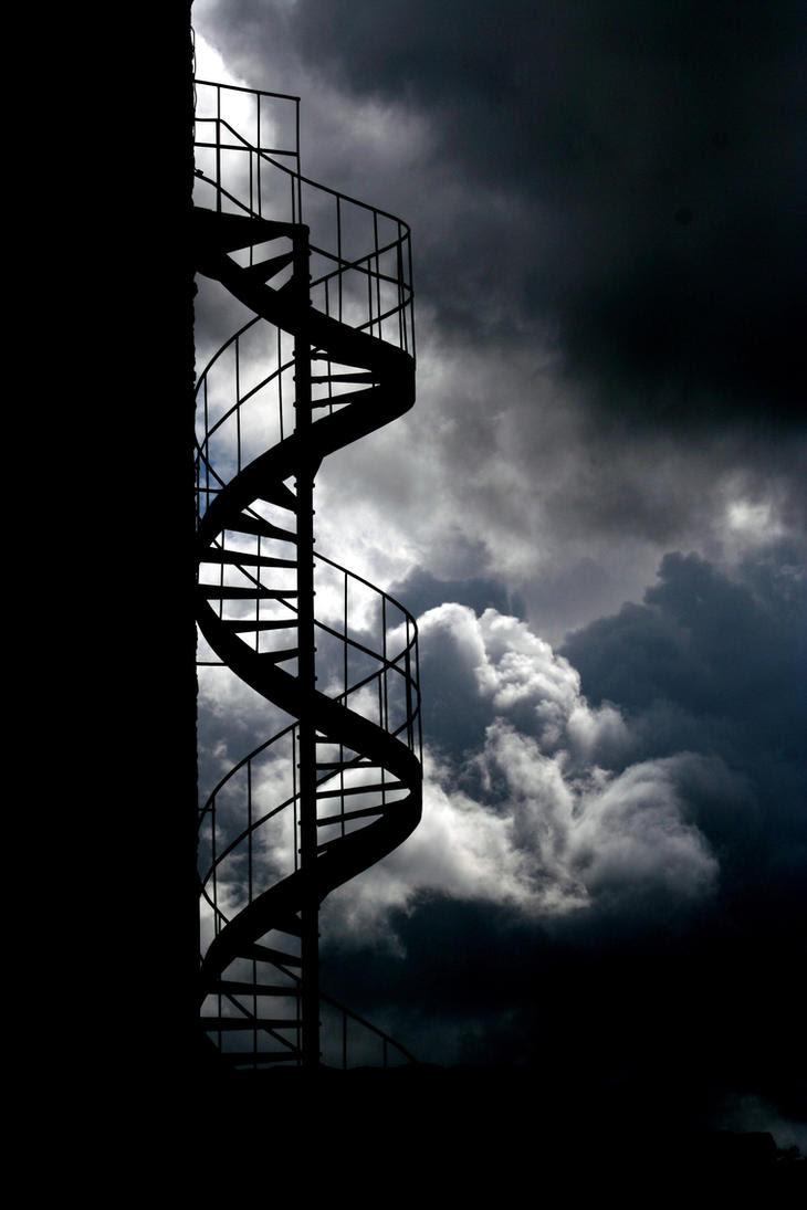 Stairs by Kaeros-Stock