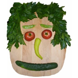 Veggie Face No Signature shirt