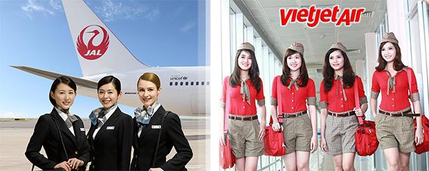 Hãng hàng không Nhật Japan Airlines sẽ hợp tác với Vietjet Air