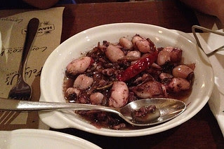 Eating in Manila - Squid