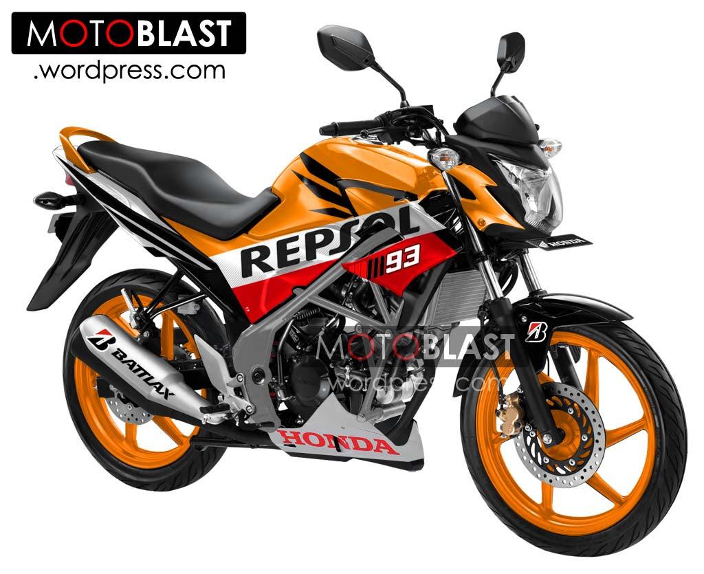 Kumpulan Modifikasi Motor Honda Cb150r Repsol Terbaru Dan Terlengkap