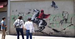 Banksy è tornato a Parigi