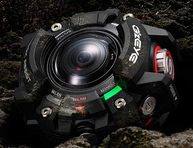 Casio GZE-1 EYE Compact Rugged Action Camera Announced