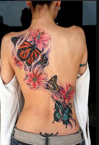 Tatuajes De Mariposas Tatuajes Con Significado