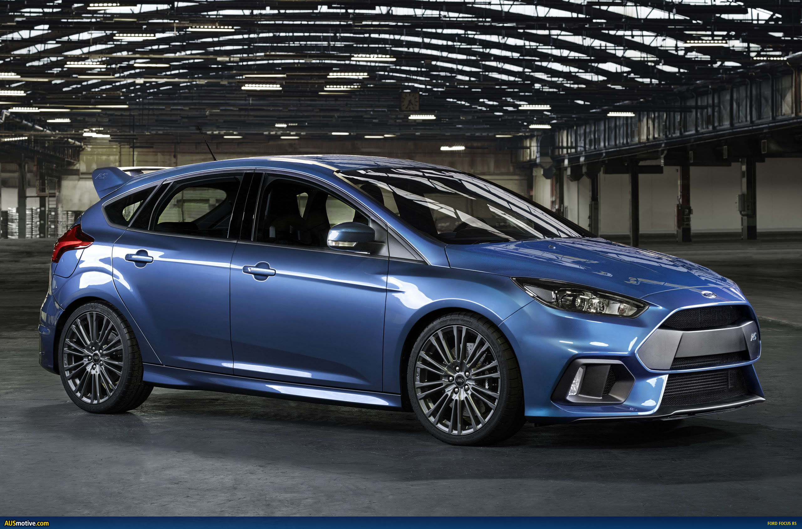 AUSmotive.com » 2016 Ford Focus RS previewed