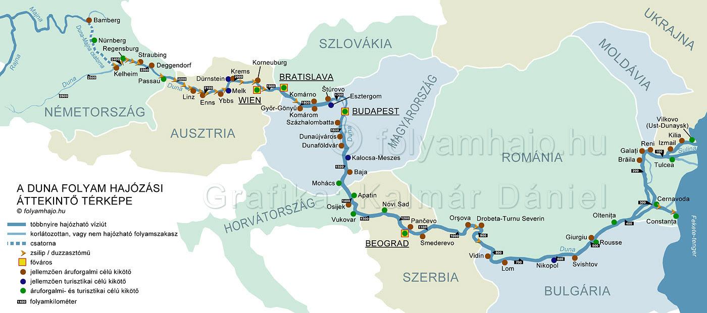 duna térkép Duna Vaskapu Térkép | Térkép