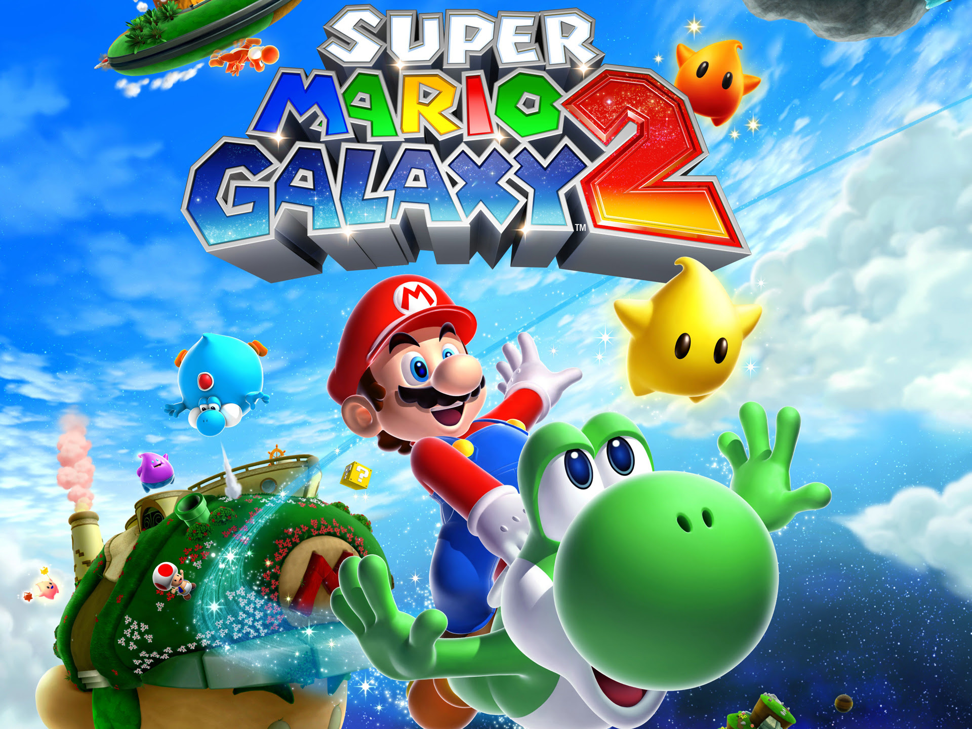 Super Mario Galaxy 2 Wallpapers Wallpapers Hd