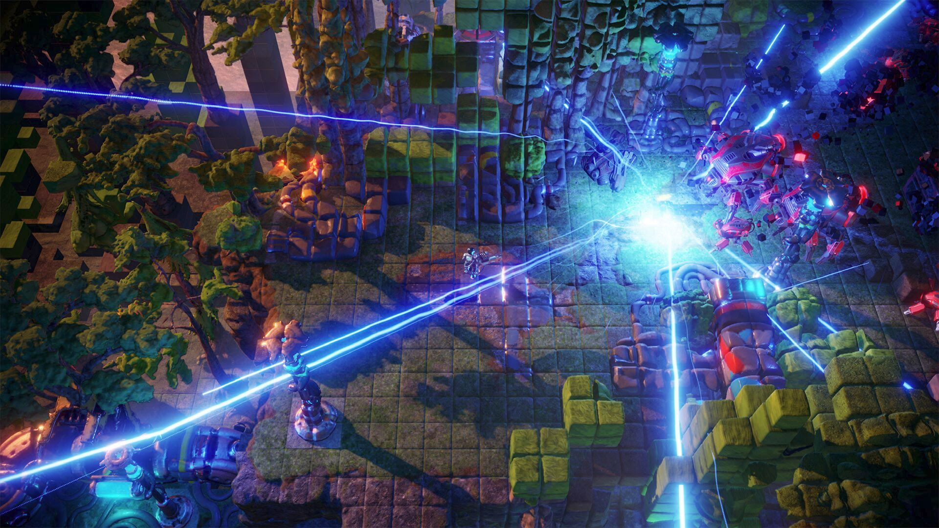 Review in Progress: Nex Machina screenshot