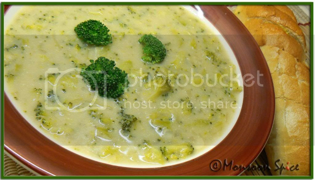 creamy garlic broccoli soup Pictures, Images and Photos
