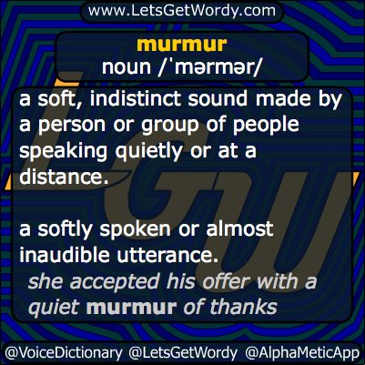 Murmur  12/12/2013 GFX Definition