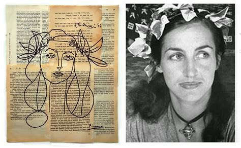 Portrait of Francoise Gilot Picasso by danorsh on DeviantArt
